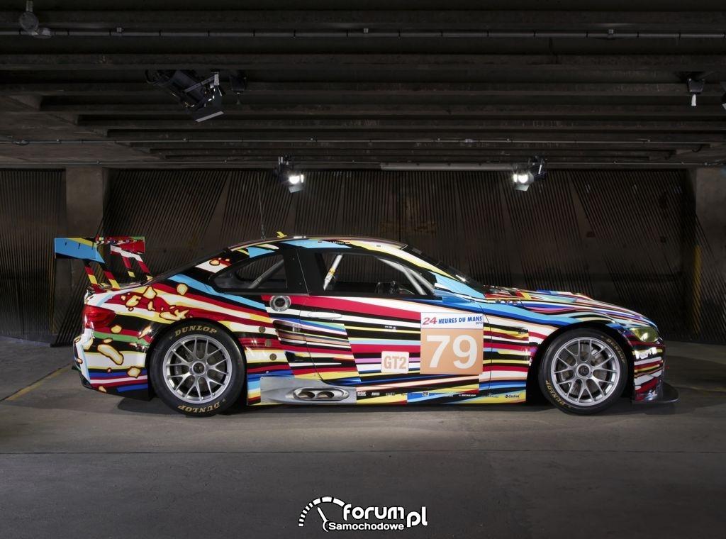 BMW M3 GT2, bok