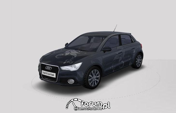 Konkurs Audi Design III miejsce Piotr Bebenca