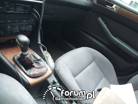 Audi a6 c5 wnętrze