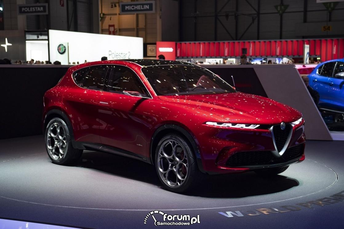 Alfa Romeo Tonale - hybrid?