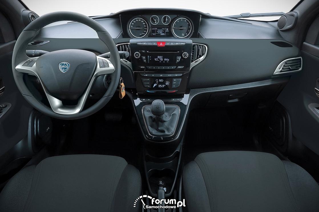 Lancia Ypsilon, 30th Anniversary, wnętrze