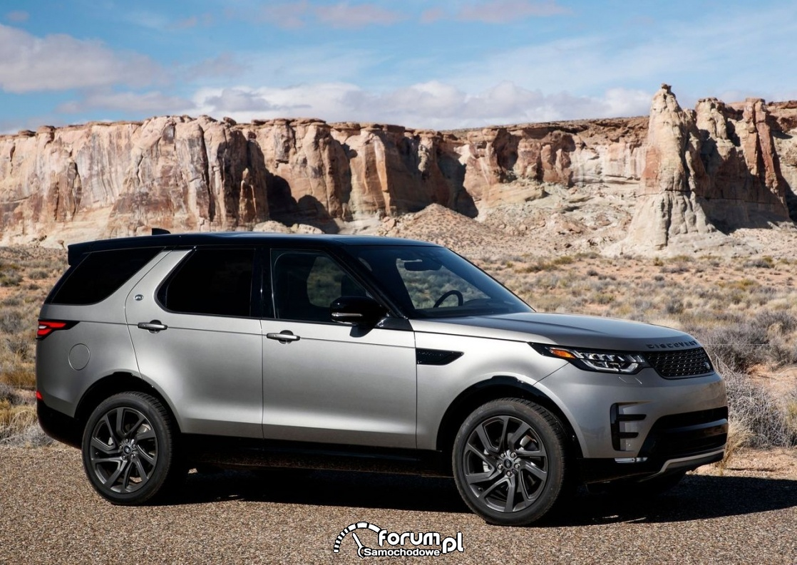 Land Rover Discovery - 7-miejscowy SUV klasy premium