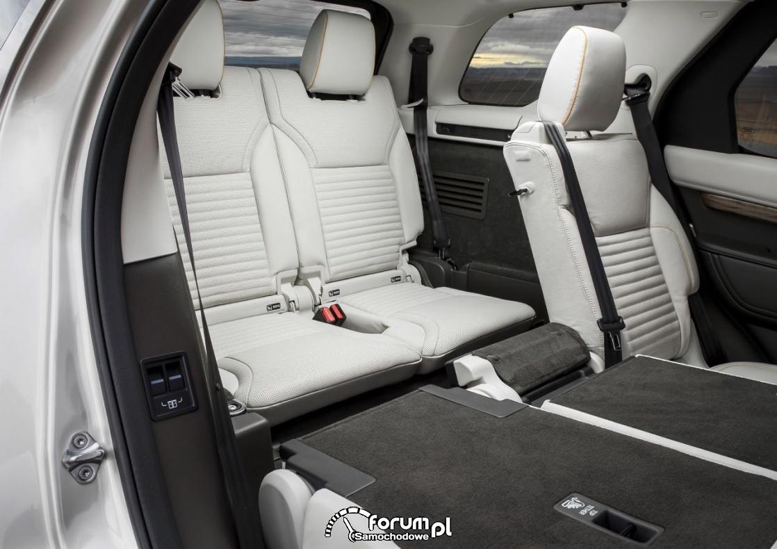 Land Rover Discovery - 7-miejscowy SUV klasy premium, trzeci rząd siedzeń