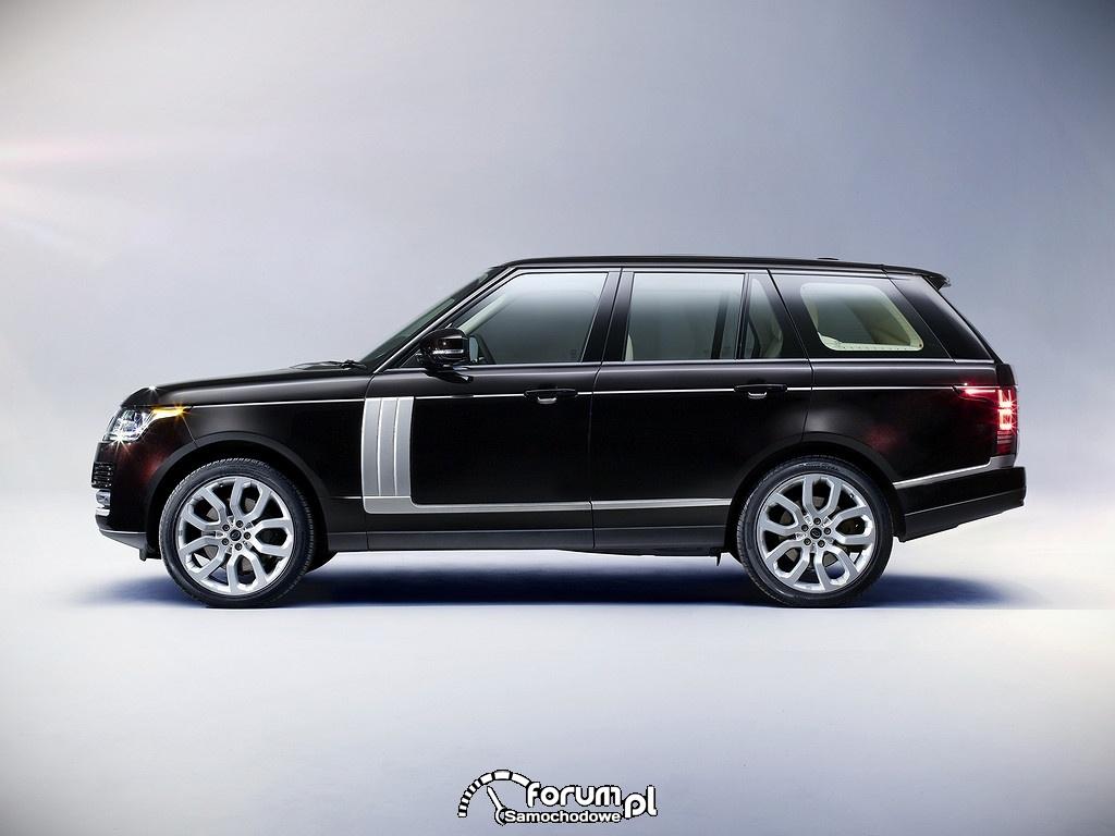 Range Rover Vogue SDV8, bok