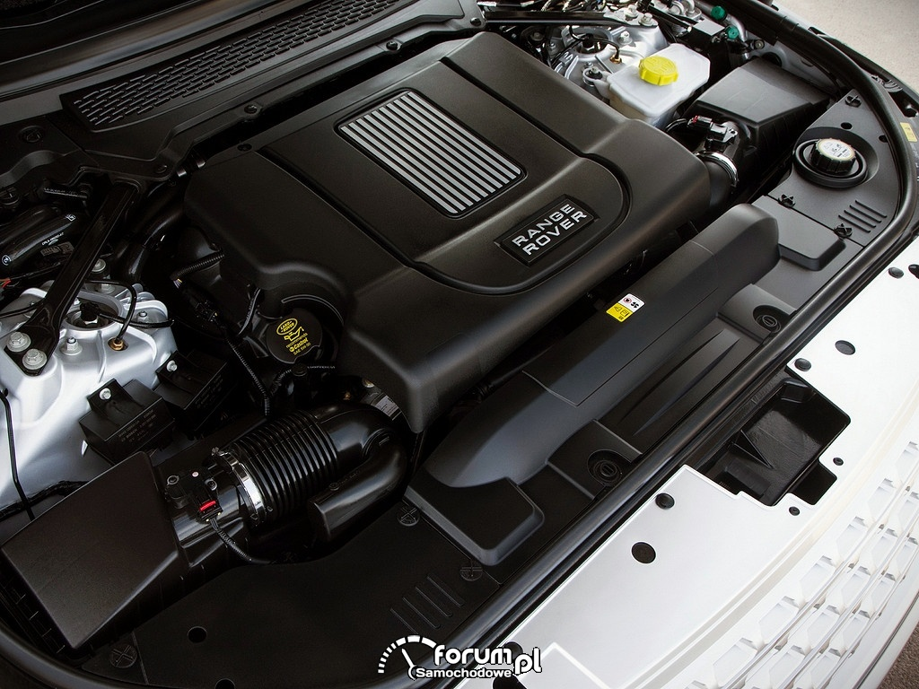 Range Rover Vogue SDV8, silnik