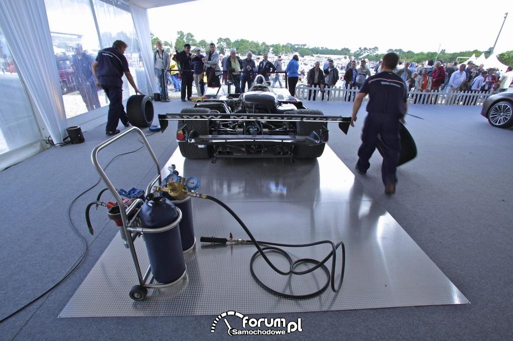 Le Mans Classic 2012, BMW Motorsport, Pitstop, 6
