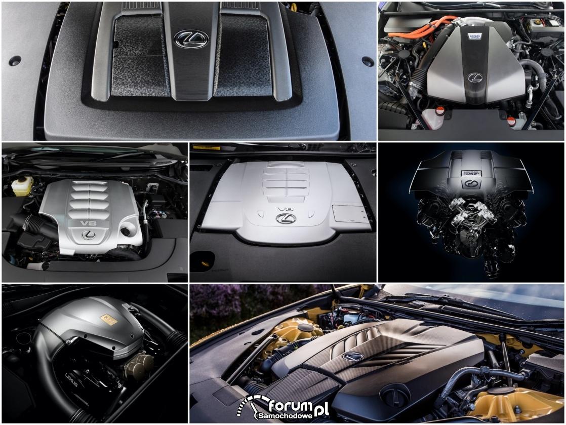 Najmocniejsze silniki w historii Lexusa. 7 motorów w układzie V