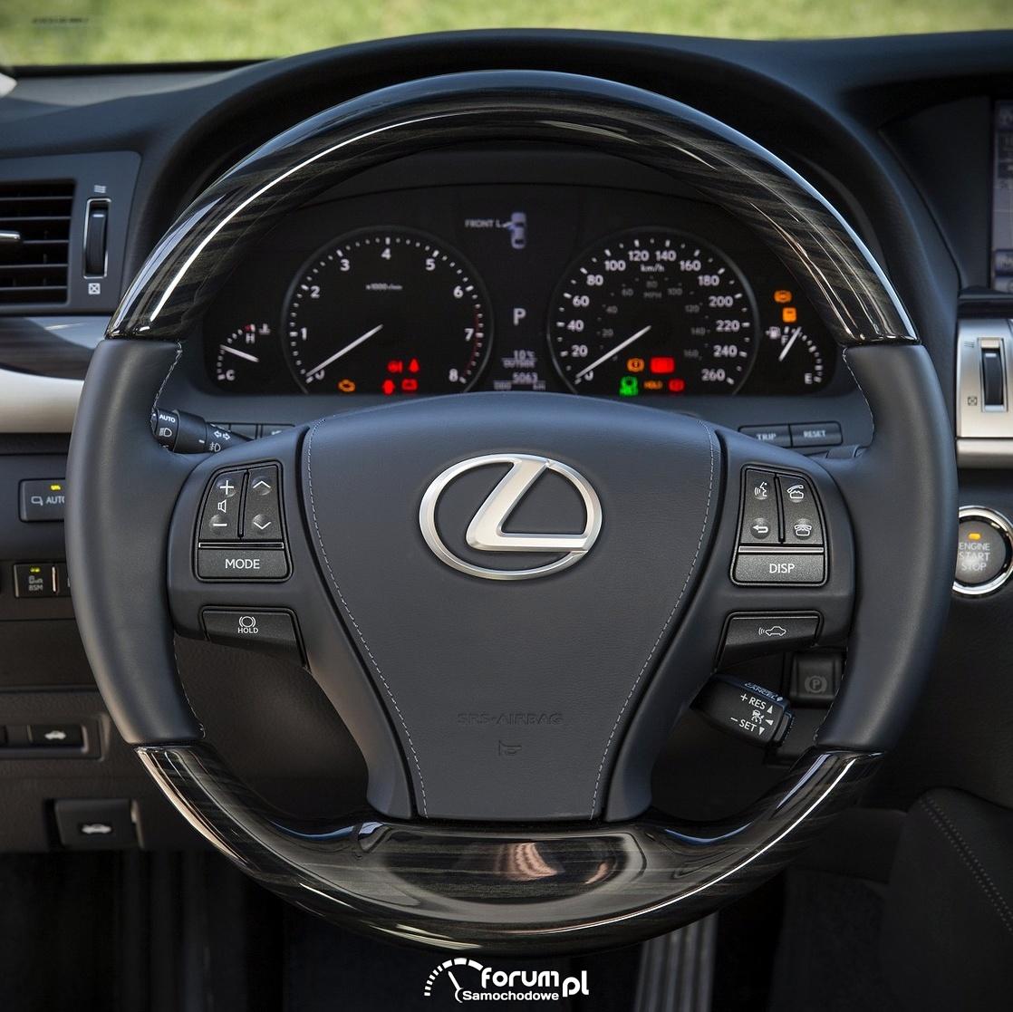 Kierownica, Lexus LS 460