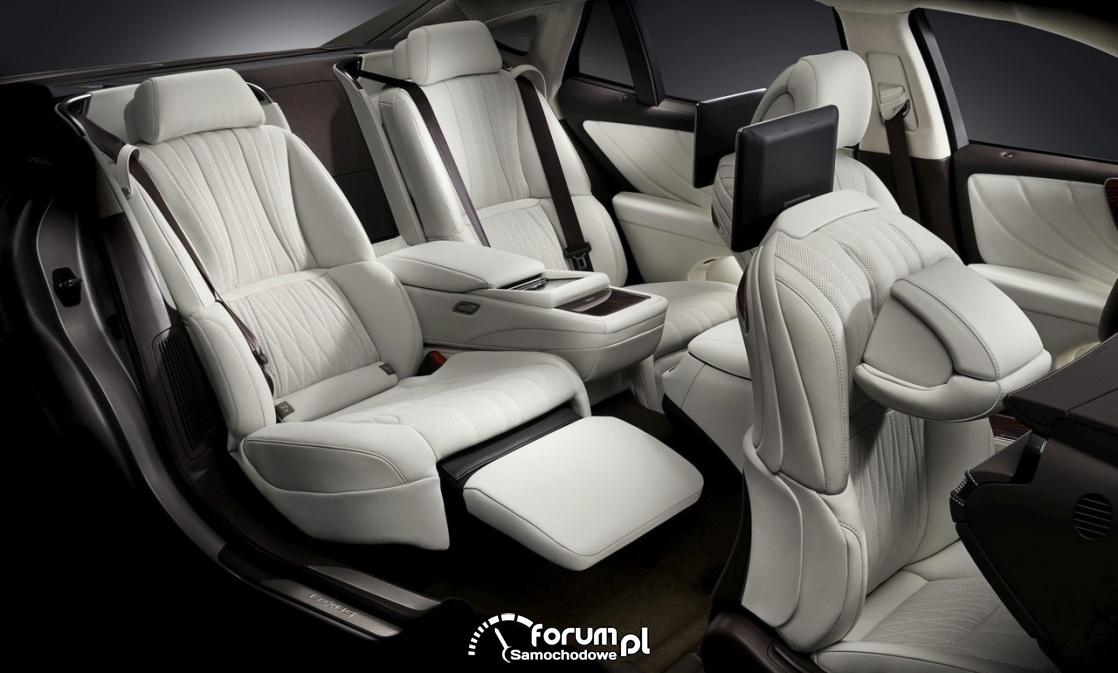 Komfortowa konfiguracja foteli, Lexus LS 500h