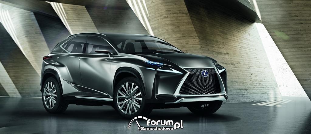 Koncepcyjny Lexus LF-NX