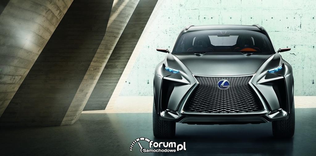 Koncepcyjny Lexus LF-NX, przód
