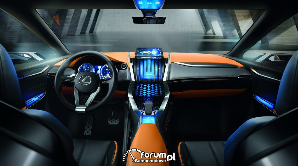 Koncepcyjny crossover Lexus LF-NX
