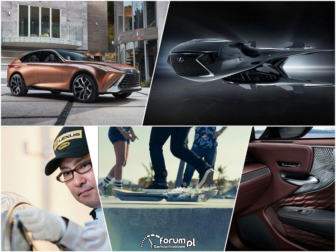 Komfort, styl i odwaga - Trzy dekady Lexusa
