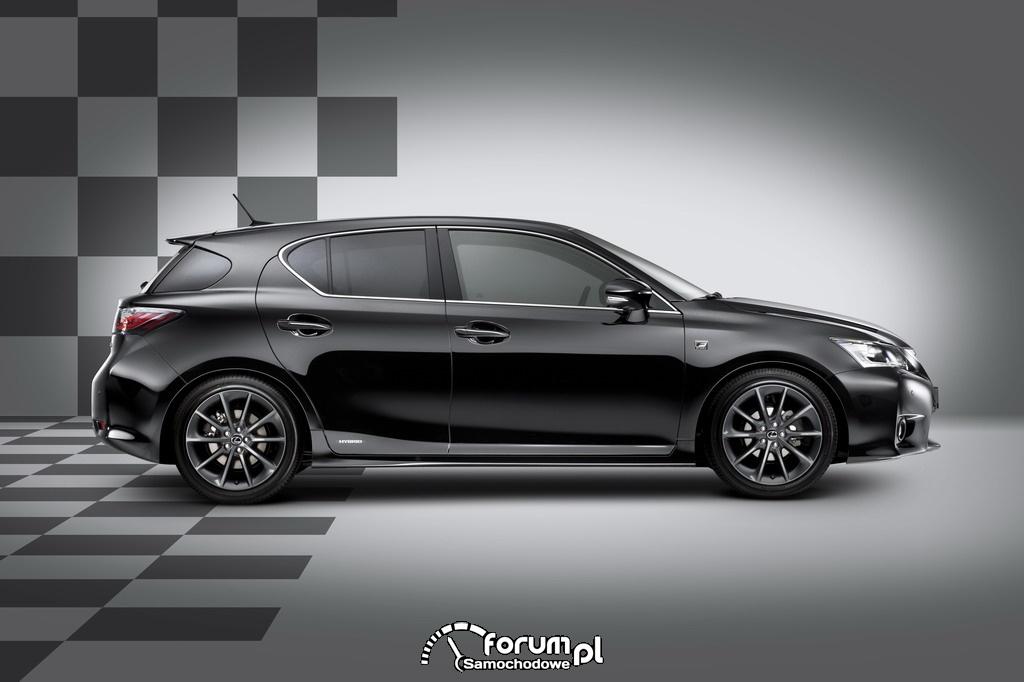 Lexus CT 200h F-Sport - bok