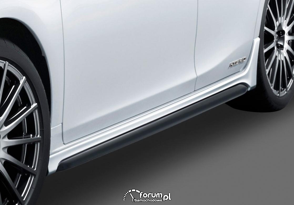 Lexus CT F SPORT, nakładki progów