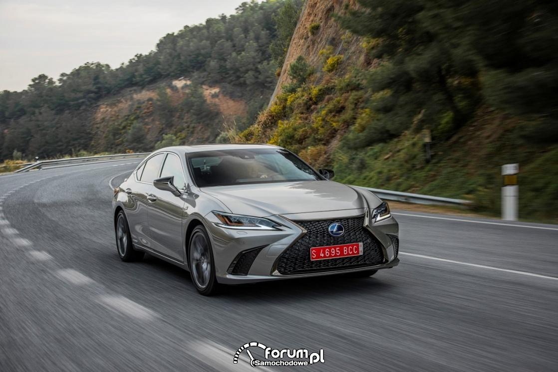 Lexus ES 300h, sonic titanium