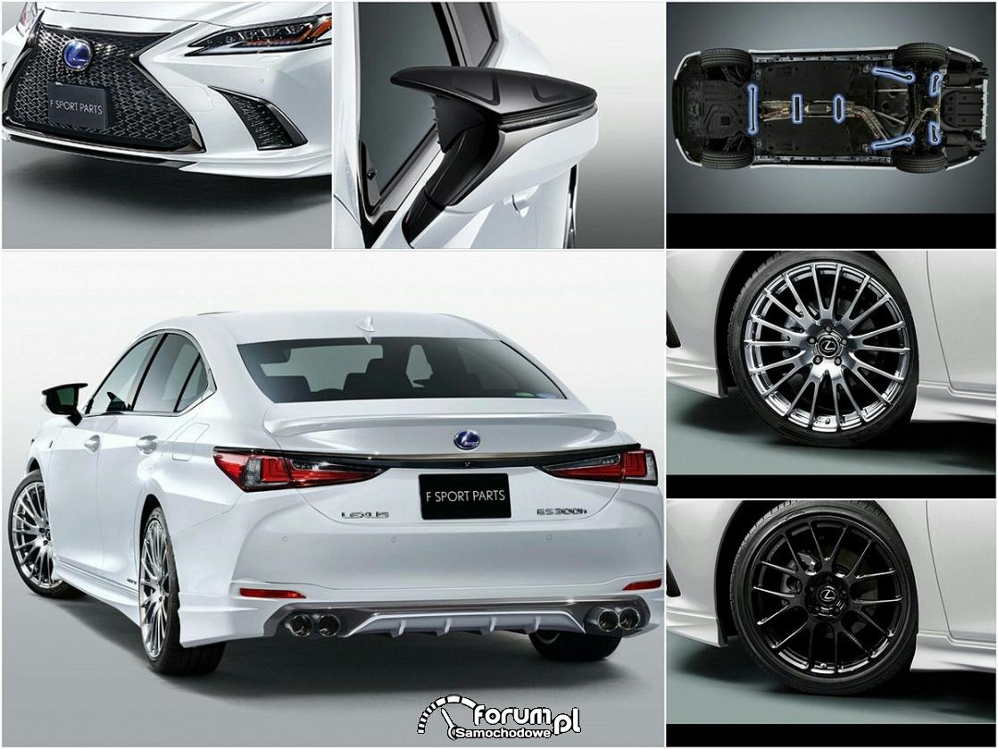 Lexus ES - TRD body kit