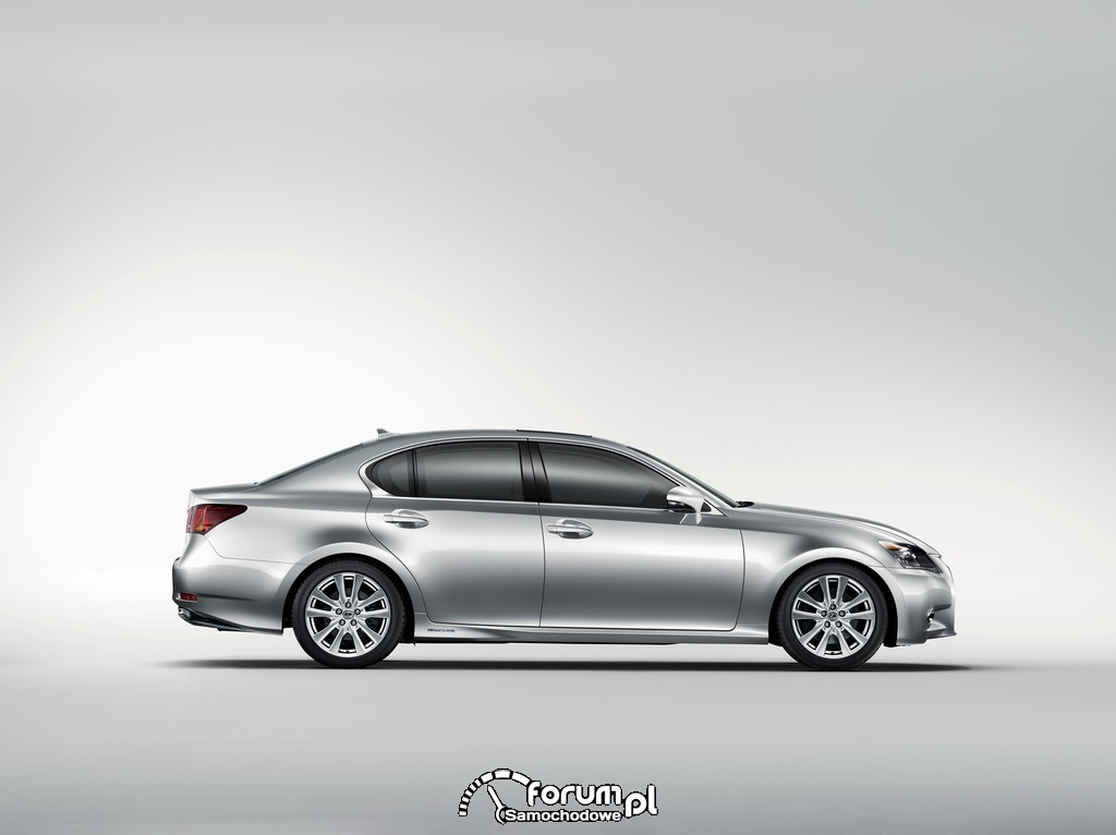 Lexus GS 450h - bok