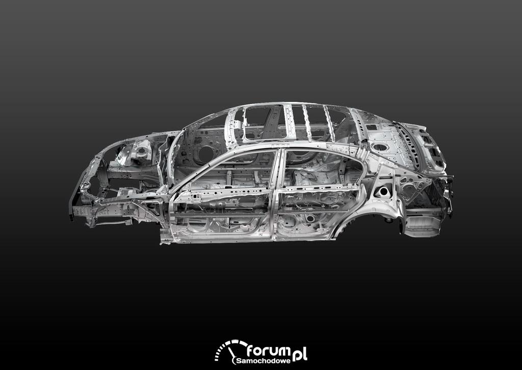 Lexus GS 450h - konstrukcja nadwozia