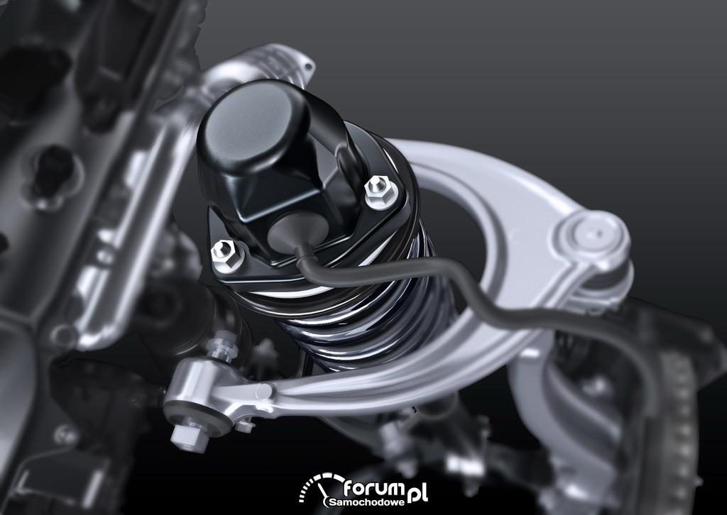 Lexus GS 450h - zawieszenie