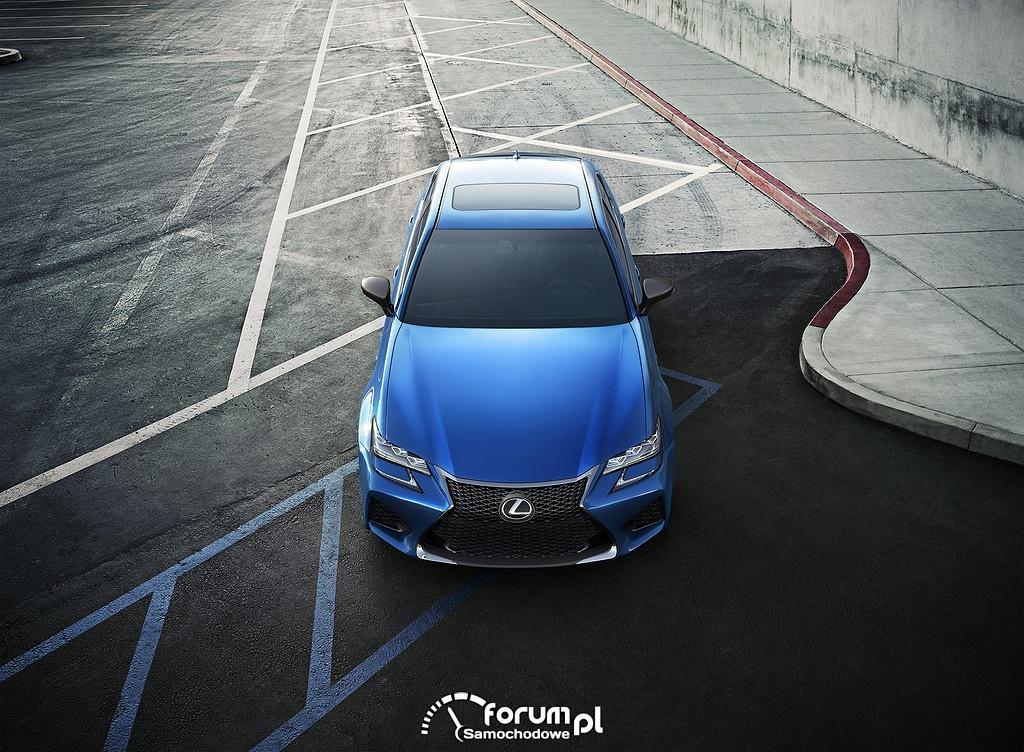 Lexus GS F, przód