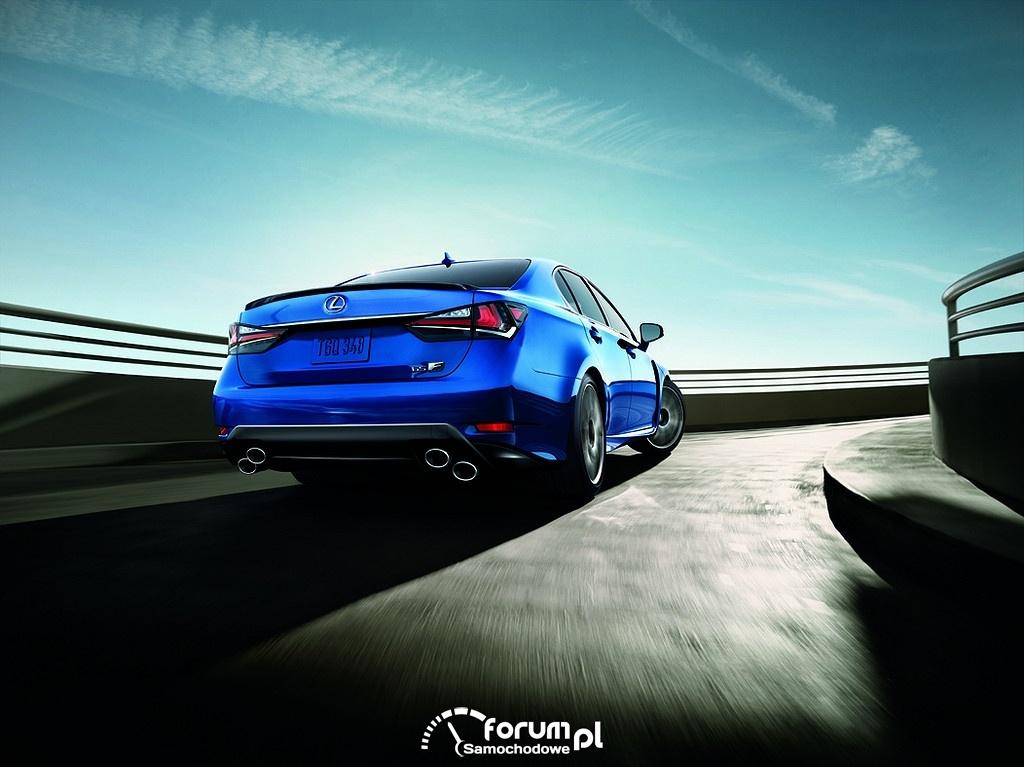 Lexus GS F, tył