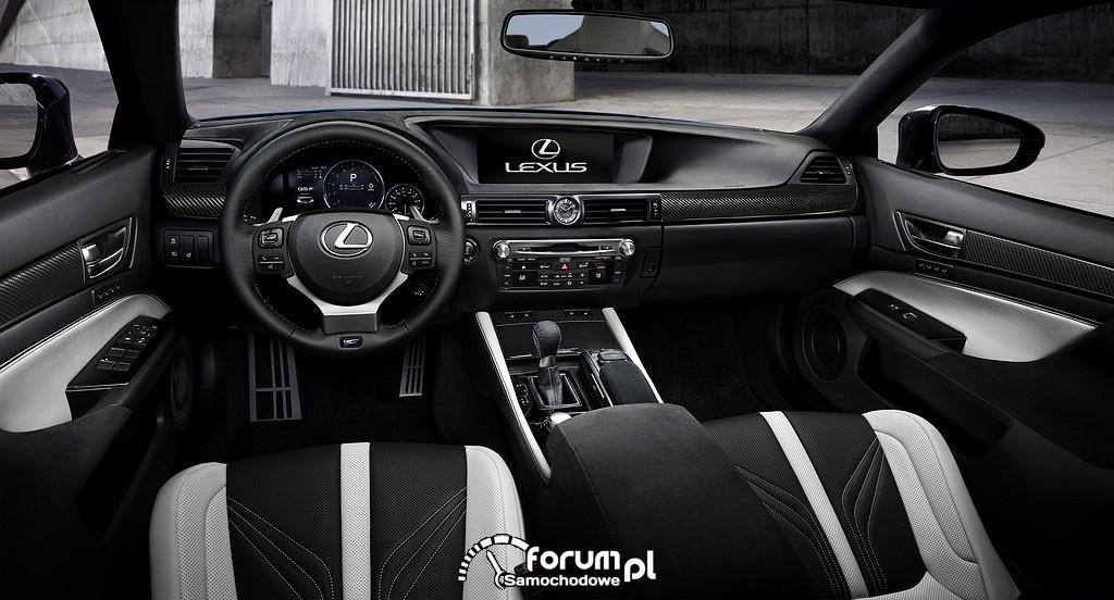 Lexus GS F, wnętrze