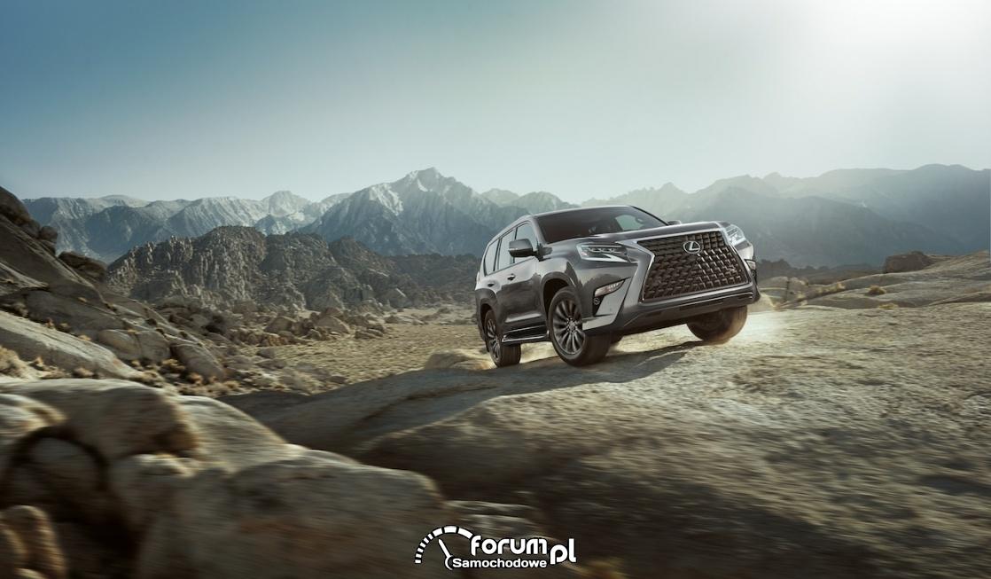 Lexus GX 460, góry