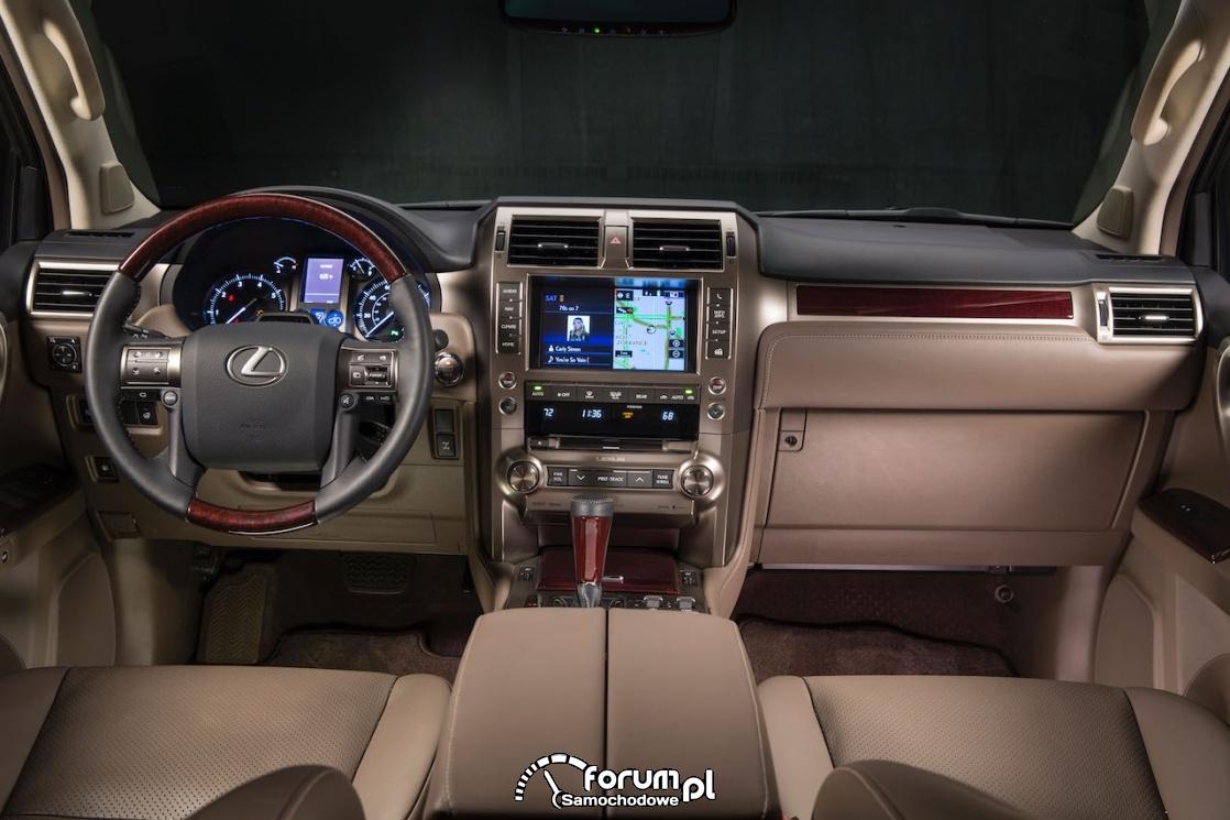 Lexus GX 460, wnętrze, 2019