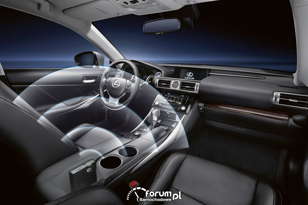 Lexus Hotspot - bezprzewodowy z Internet w samochodzie