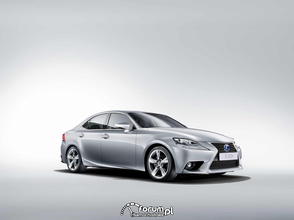 Lexus IS 300h w testach Euro NCAP