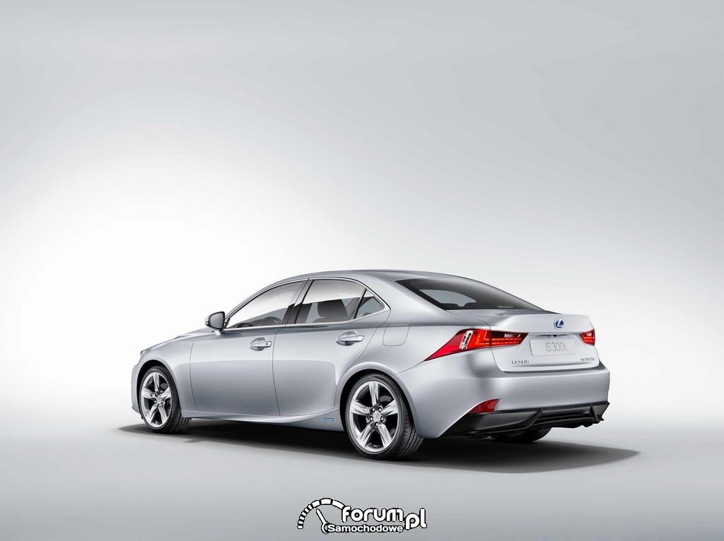 Lexus IS 300h, tył