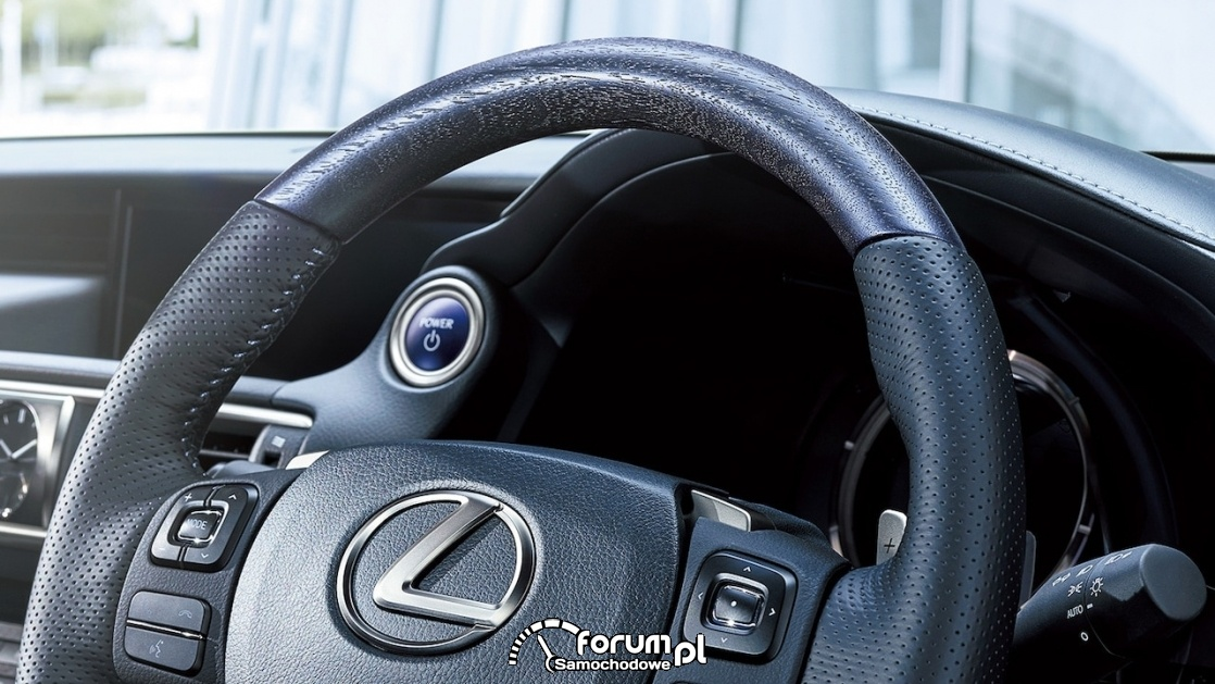 Lexus IS I Blue, kierownica