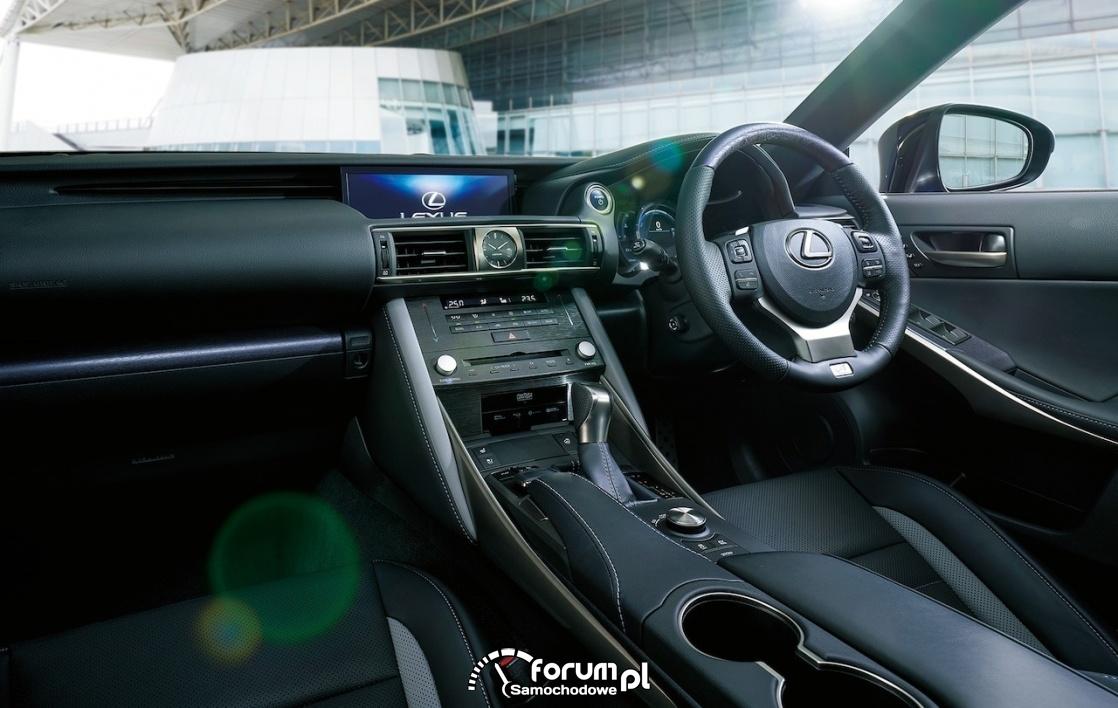 Lexus IS I Blue, wnętrze