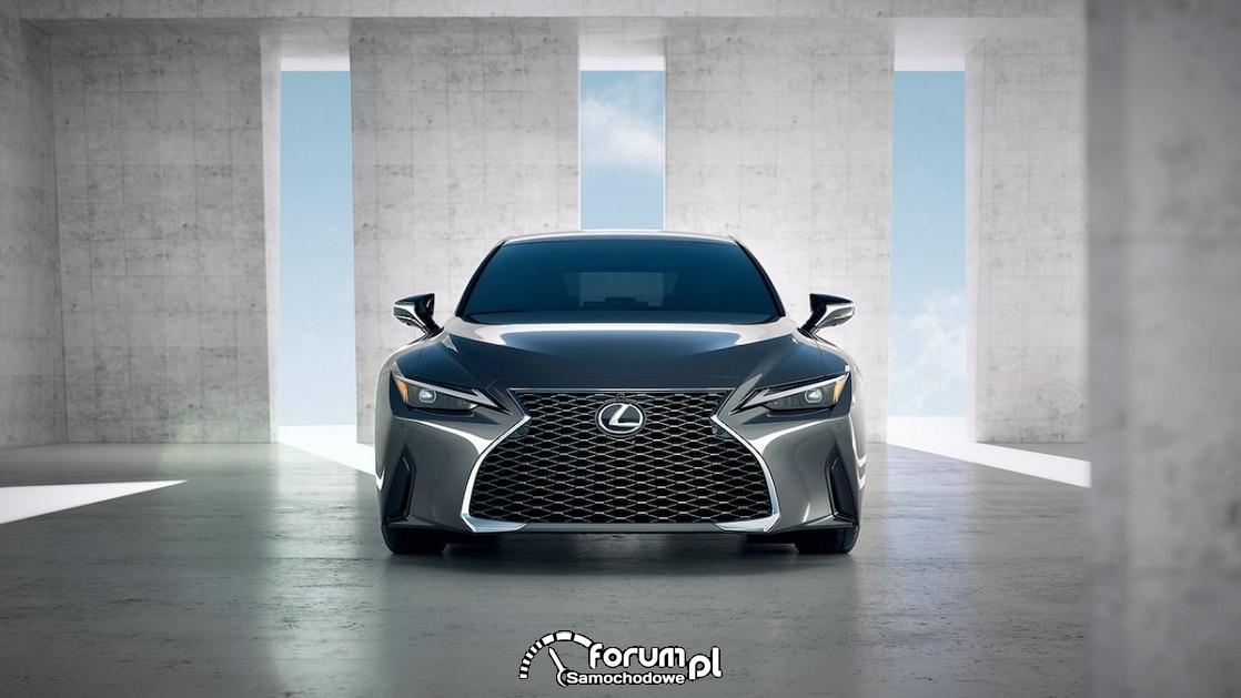 Lexus IS, przód