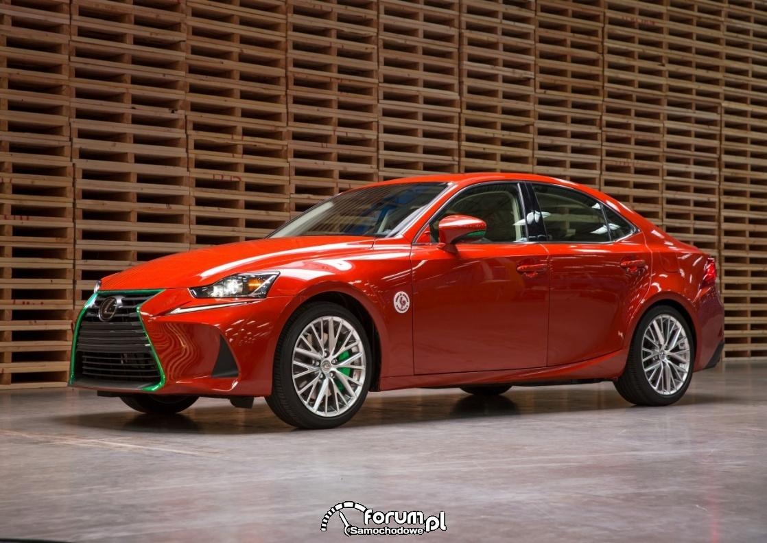 Lexus IS Sriracha, ciekawy design