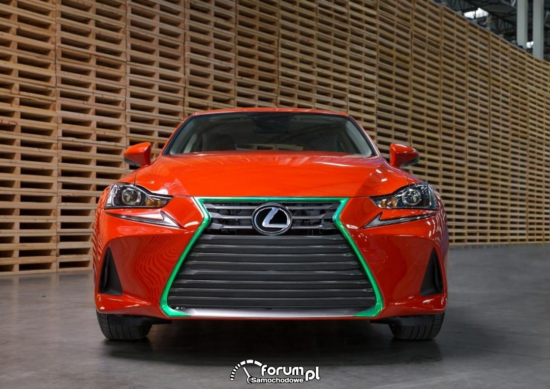Lexus IS Sriracha, przód