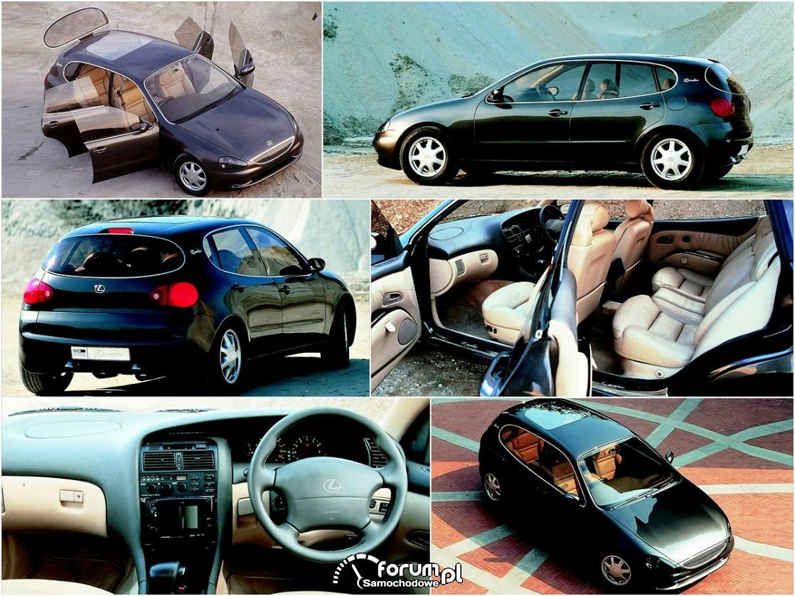 Lexus Landau - kompaktowy hatchback z silnikiem V8
