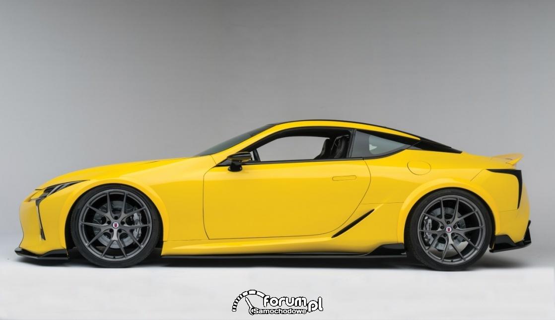 Lexus LC 500, bok, tuning