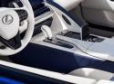 Lexus LC 500 Convertible, środkowa konsola, wykończenie