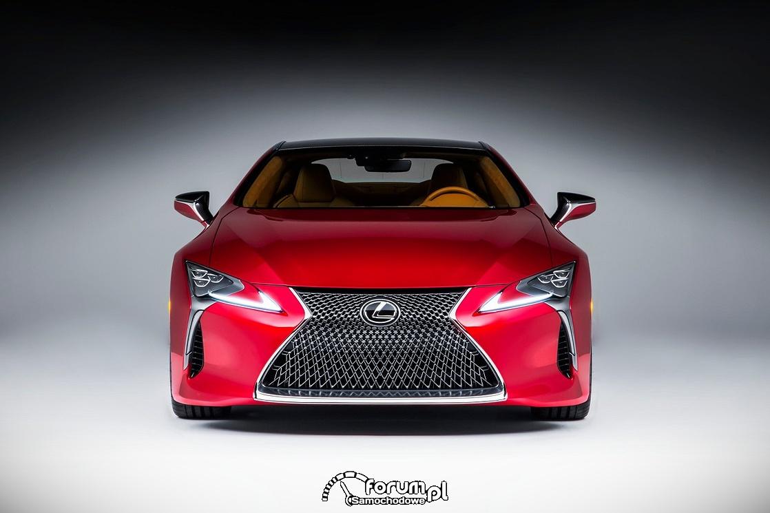Model LC 500 pokazuje przyszłość Lexusa