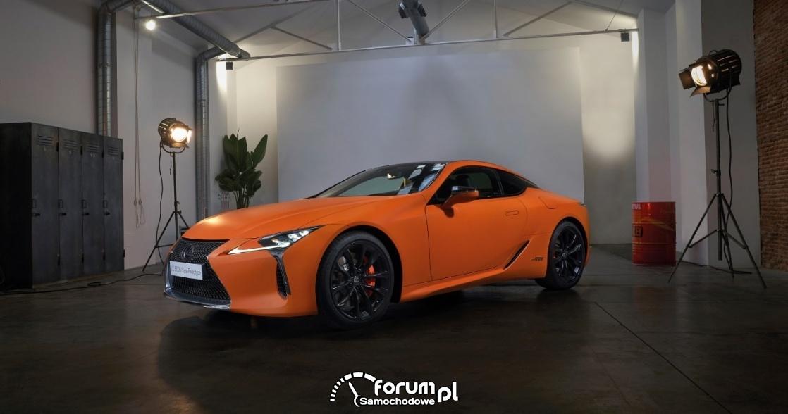 Lexus LC 500h Matte Prototype