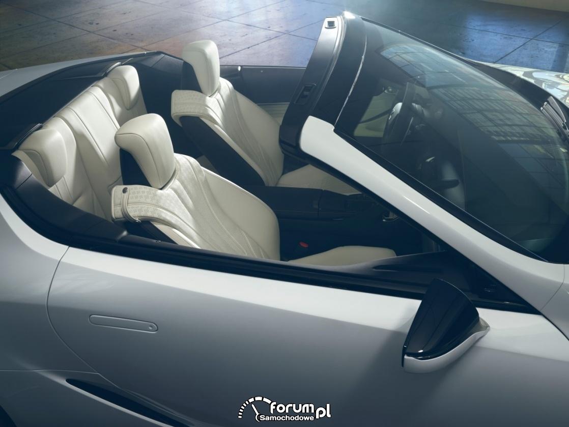 Lexus LC Convertible, concept, jasna tapicerka