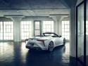 Lexus LC Convertible, concept, tył