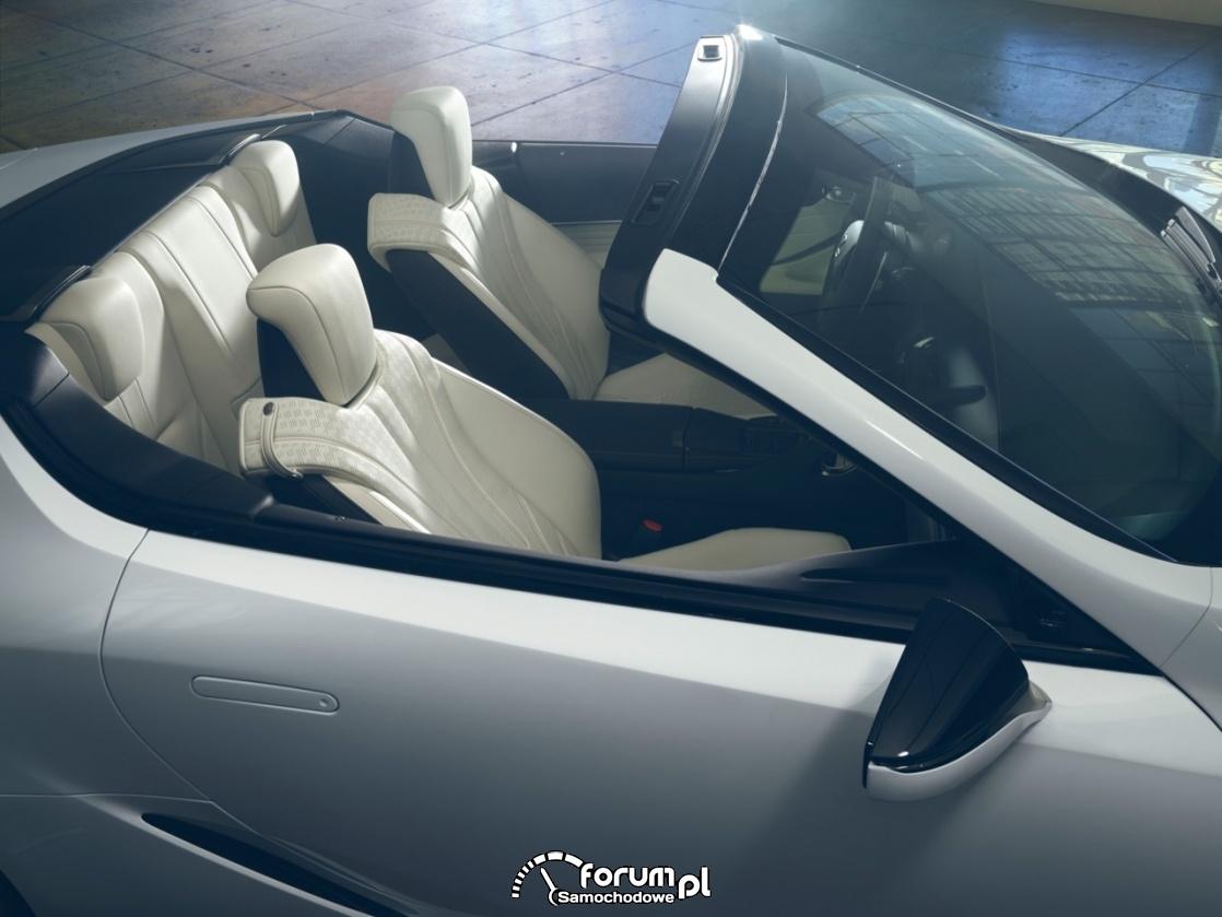 Lexus LC Convertible, jasna tapicerka