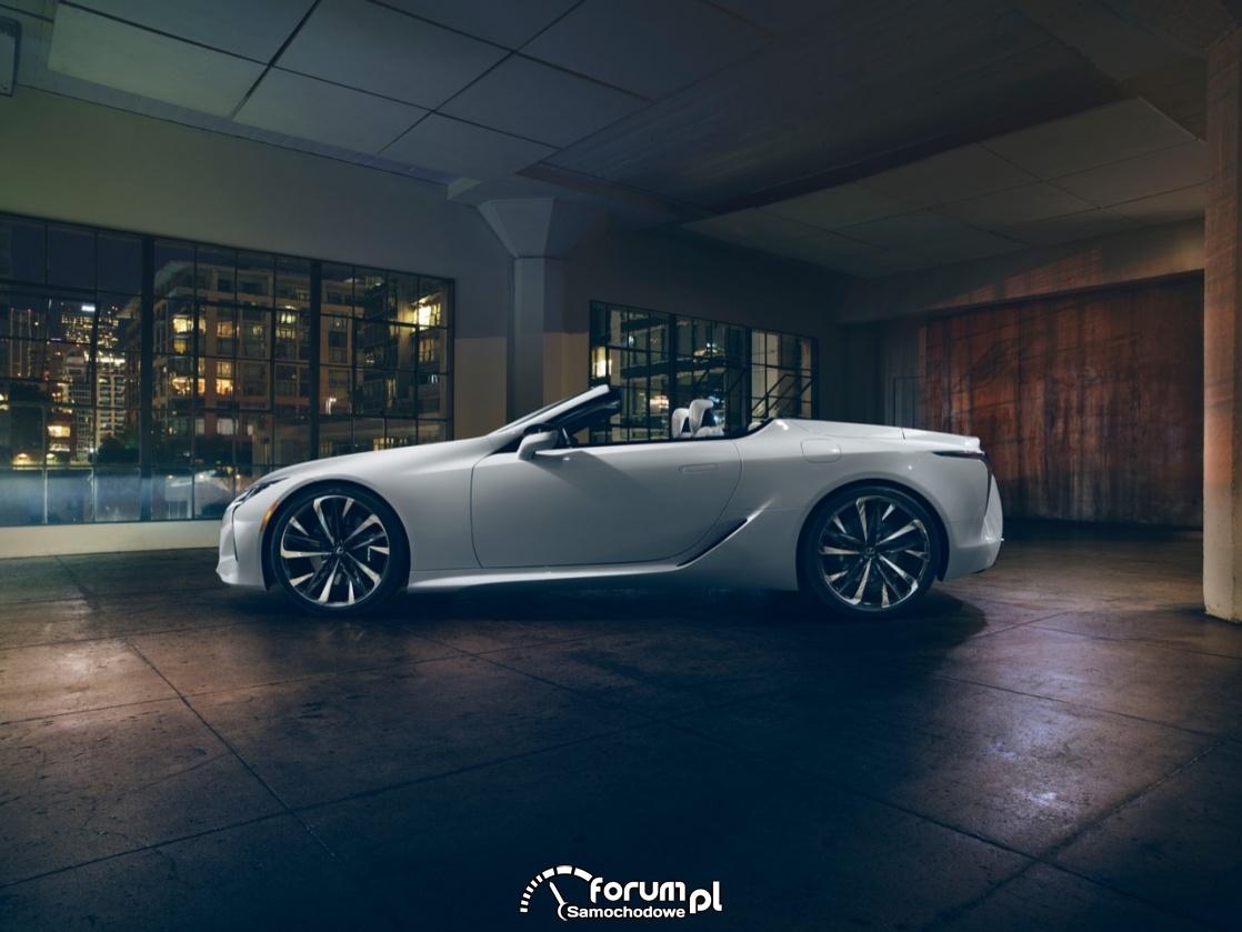 Lexus LC Convertible, kabriolet, bok