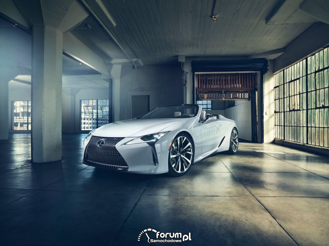 Lexus LC Convertible, przód