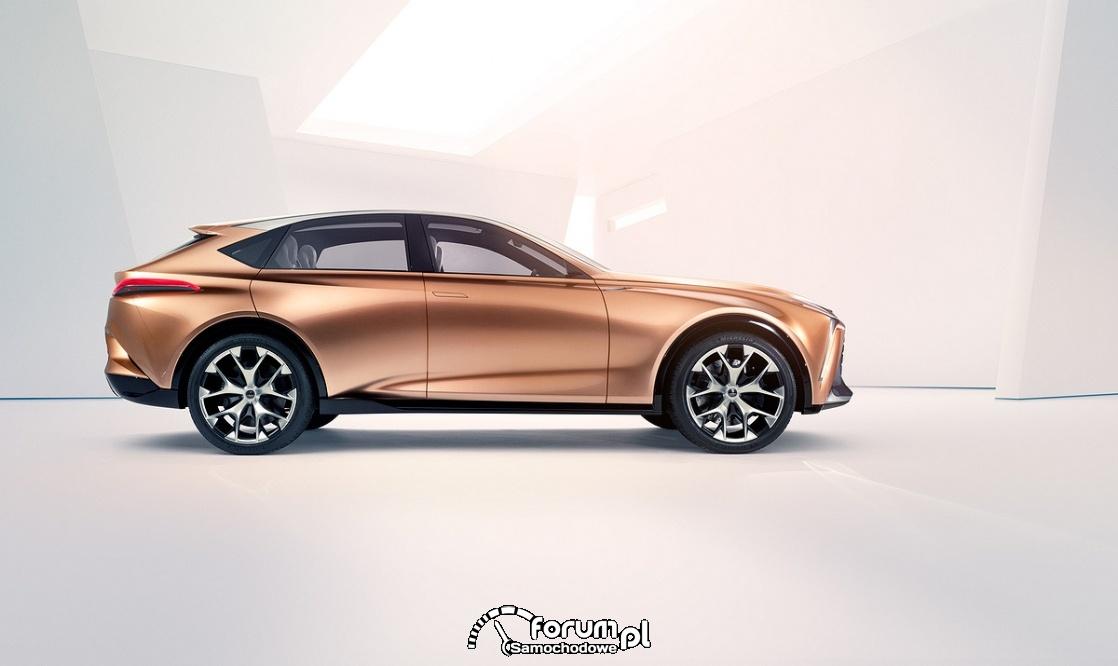 Lexus LF-1 Limitless, bok