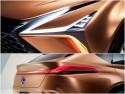 Lexus LF-1 Limitless, światła LED
