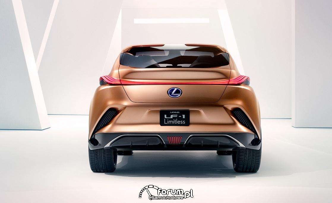 Lexus LF-1 Limitless, tył